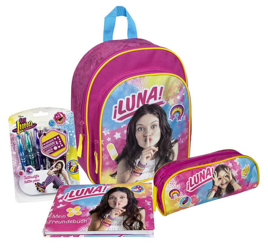 Disney Soy Luna Bundle Rucksack 4 Teilig 146340505 2145 Www