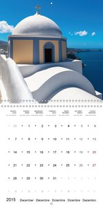 SANTORINI Caldera Views (Wall Calendar 2015 300 × 300 mm Square)
