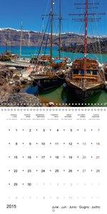 SANTORINI Caldera Views (Wall Calendar 2015 300 × 300 mm Square)
