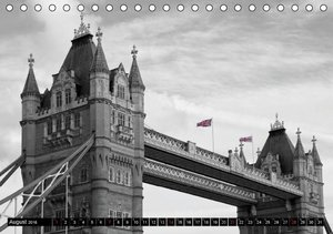 LONDON - Cityscapes (CH - Version) (Tischkalender 2016 DIN A5 qu