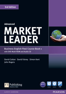 Market Leader Advanced Flexi Course Book 1 Pack