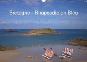 Bretagne - Rhapsodie en Bleu (Calendrier mural 2015 DIN A3 horiz