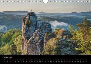 Saxon Switzerland / UK-Version (Wall Calendar 2015 DIN A4 Landsc