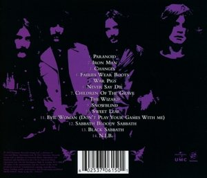 Iron Man-The Best Of (Jewel Case CD)