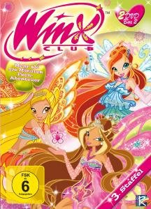 Winx Club - 3. Staffel Box 2 (Inkl. Teil 3 + 4)