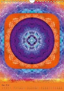 Mandala Energien (Wandkalender 2016 DIN A4 hoch)
