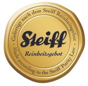 Steiff 111464 - Lotte Teddybär im Koffer, weiß, 28cm