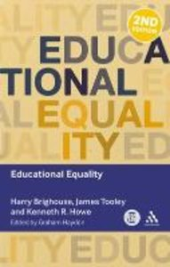 Educational Equality. Edited by Graham Haydon