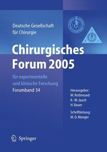 Chirurgisches Forum 2005