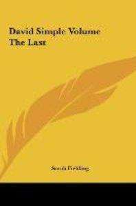 David Simple Volume The Last