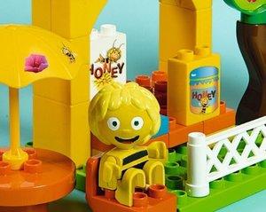 Big 57038 - Playbig Bloxx: die Biene Maja, Honigstand