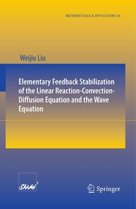 Elementary Feedback Stabilization of the Linear Reaction-Convect