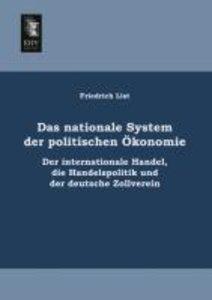 Das nationale System der politischen Ökonomie