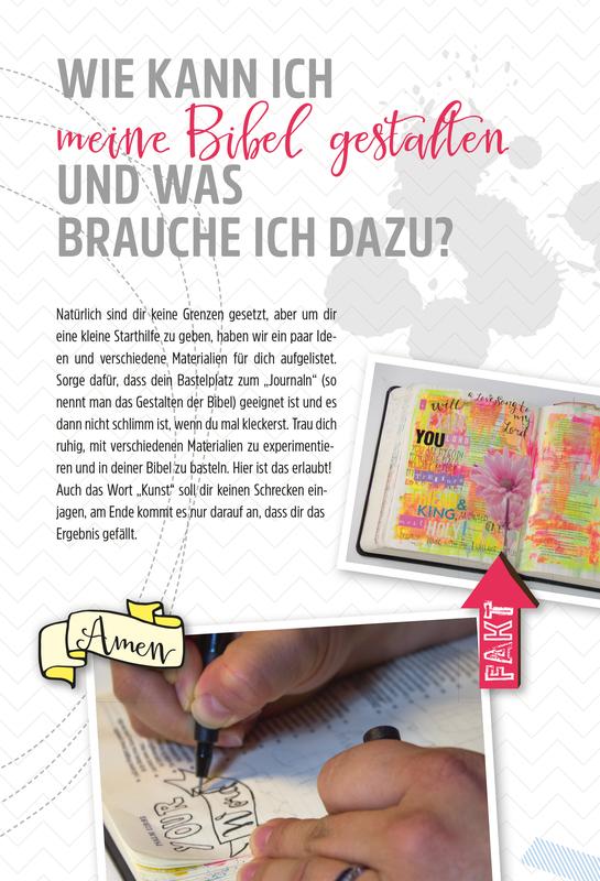 Art Journaling Kinderbibel Neues Testament - zum Schließen ins Bild klicken