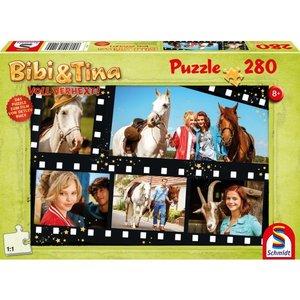 Schmidt Spiele 56149 - Bibi und Tina: Voll Verhext! Puzzle 280 T