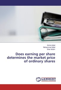 Does earning per share determines the market price of ordinary s