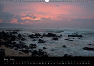 Hawaii / UK-Version (Wall Calendar 2015 DIN A3 Landscape)