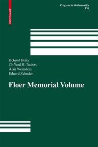 The Floer Memorial Volume