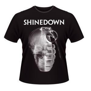 Skull Grenade T-Shirt Black S