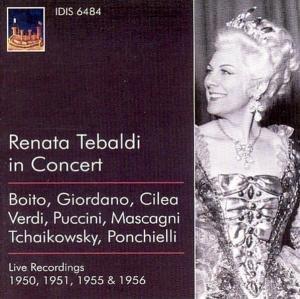 Renata Tebaldi In Concert