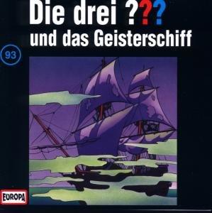 Die drei ??? 093 und das Geisterschiff. (drei Fragezeichen). CD