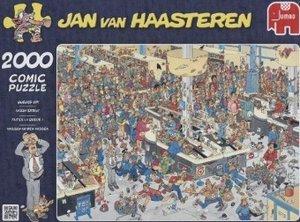 Jan van Haasteren - Massen an den Kassen - 2000 Teile