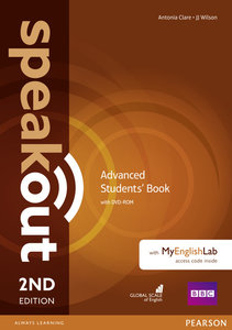 Speakout Advanced. Students' Book with DVD-ROM and MyEnglishLab