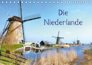 Die Niederlande (Tischkalender 2016 DIN A5 quer)