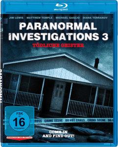Paranormal Investigations 3 (Blu-ray)