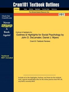 Outlines & Highlights for Social Psychology by John D. DeLamater