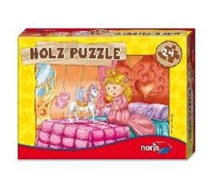 Noris 606031291 - Holzpuzzle 24 tlg. Prinzessin