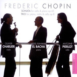 Cellosonate op.65/Trio op.8