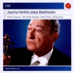 Jascha Heifetz spielt Beethoven