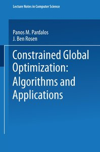 Constrained Global Optimization: Algorithms and Applications