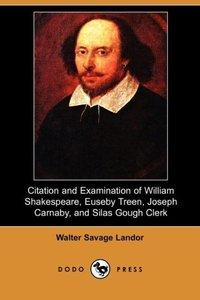 CITATION & EXAM OF WILLIAM SHA