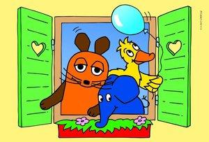 Die Maus Puzzle Set 2 x 26 und 2 x 48 Teile