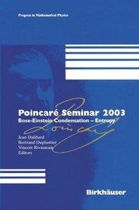Poincaré Seminar 2003