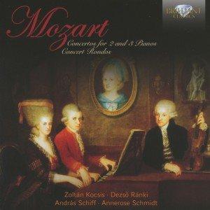 Mozart: Konzerte für 2 & 3 Klaviere