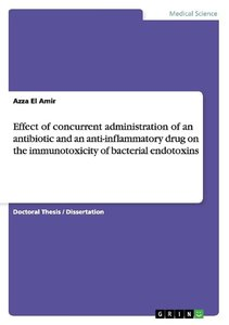 Effect of concurrent administration of an antibiotic and an anti