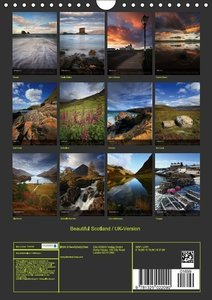 Beautiful Scotland / UK-Version (Wall Calendar 2015 DIN A4 Portr