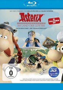 Asterix im Land der Götter BD 3D/2D