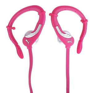 Puma 360 Pro Performance Sport Headset In-Ear + Mic, pink