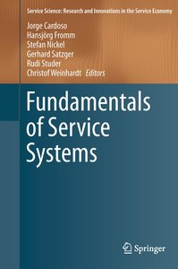 Fundamentals of Service Systems