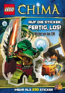 LEGO Legends of Chima. Auf die Sticker, fertig, los!