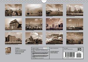 Hafen - Impressionen Hansestadt Wismar (Wandkalender 2017 DIN A4