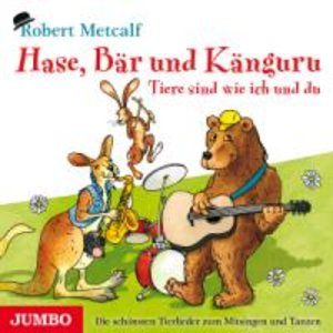Hase,Bär Und Känguru-Tiere Sind Wie Ich Und Du