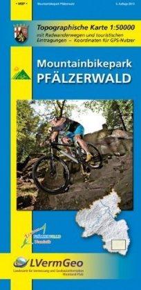 Radwanderkarte Mountainbikepark Pfälzerwald 1 : 50 000 - zum Schließen ins Bild klicken