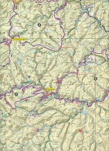 Radwanderkarte Mountainbikepark Pfälzerwald 1 : 50 000