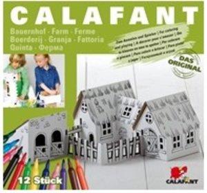Calafant B2605X - Bauernhof mit 12 Filzstiften, LEVEL 2, 36 x 29