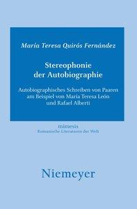 Stereophonie der Autobiographie